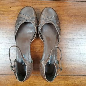 Style & Co Vintage Retro Style Handy Brown Heels